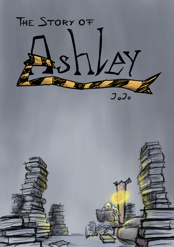Cover-Illustration für das Comicprojekt Story of Ashley
